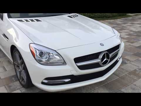 2014 Mercedes Benz SLK250 Roadster Review and Test Drive by Bill - Auto Europa Naples