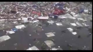 Hurricane dorian St. Thomas Bahamas Footage AFTERMATH 2019  SCARY * WARNING *