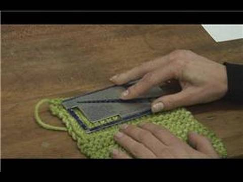 Knitting Tips How To Gauge Knitting Stitches Youtube