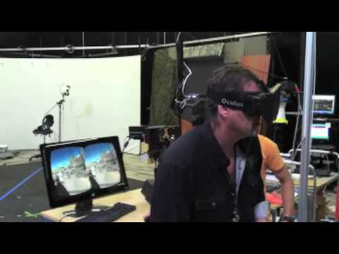 Oculus Rift Development Kit Running PTSD Therapy System