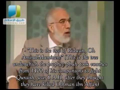 The greatness of Omar ibn Al-Khattab, by Sheikh Omar Abdel-Kafi. Subtitled!