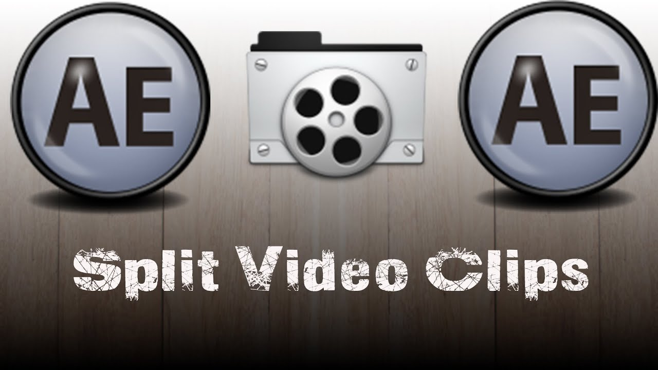 How To Split Clips In Adobe After Effects After Effects Tutorial Youtube