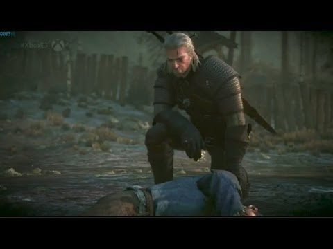 E3 2014 - The Witcher 3: Wild Hunt Gameplay Demo Trailer (The Witcher 3)