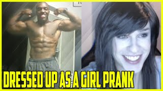 Repeat youtube video Dressed Up As A Girl Prank On Chatroulette #2