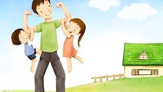 Мультфильм про папу на детской площадке. Мама в шоке