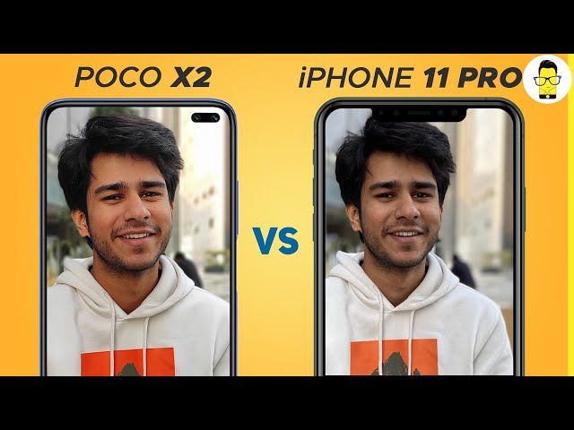 Poco X2 vs iPhone 11 Pro camera comparison - budget vs flagship just for fun