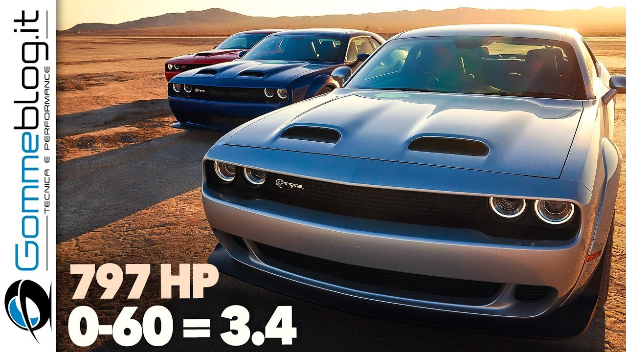 New 2019 Dodge Challenger Srt Hellcat Redeye The Quickest