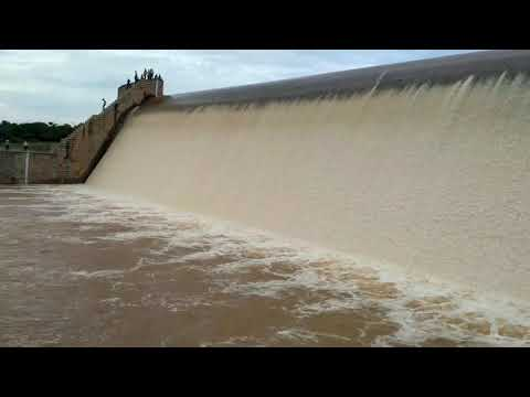 Gayathri dam full Rain jg hally hiriyur tq chitradurga district