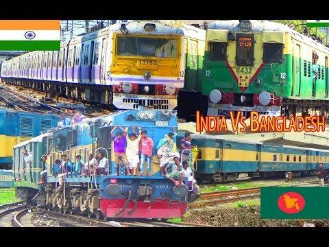Indian Railways vs Bangladesh Railways/Kolkata,Sealdah  vs. Dhaka ,Kamalapur railway Junction thumbnail