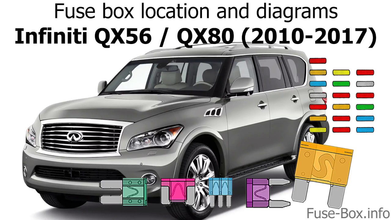 Fuse box location and diagrams: Infiniti QX56, QX80 (2010 ... Infiniti Qx Fuse Box Location on infiniti qx56 radio, nissan fuel pump relay location, infiniti qx56 diesel, infiniti g35 fuse box diagram, infiniti q45 fuse box location, infiniti m45 fuse box location, infiniti qx56 interior, infiniti qx56 dash, infiniti qx56 cabin filter location, infiniti qx56 diagram, infiniti g37 fuse box location, infiniti fx35 fuse box location, infiniti i30 fuse box location, infiniti qx4 fuse box location,