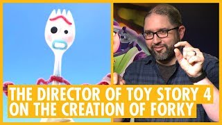 Find Out How Forky Was Created - Josh Cooley, Jonas Rivera & Mark Nielsen  - Toy Story 4 Interview
