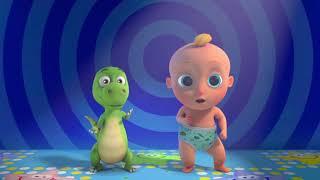 Разминка и танец для детей! Динозаврик Зигалу - Лу Лу Кидс - Песенки и Мультики
