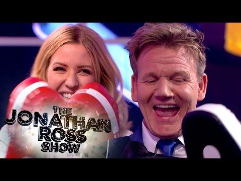 Ellie Goulding Boxes Gordon Ramsay - The Jonathan Ross Show