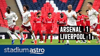 Arsenal 1 - 1 Liverpool (5-4 on pen) | Astro SuperSport