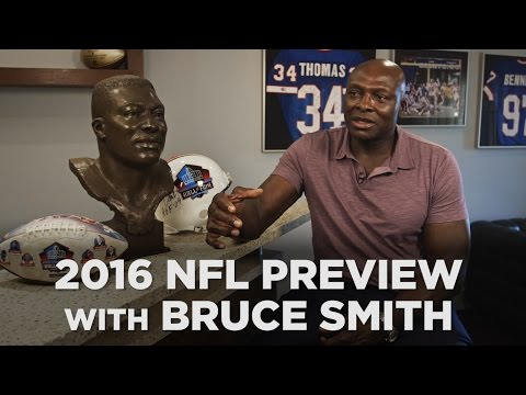 NFL legend Bruce Smith makes his predictions for the 2016 season
