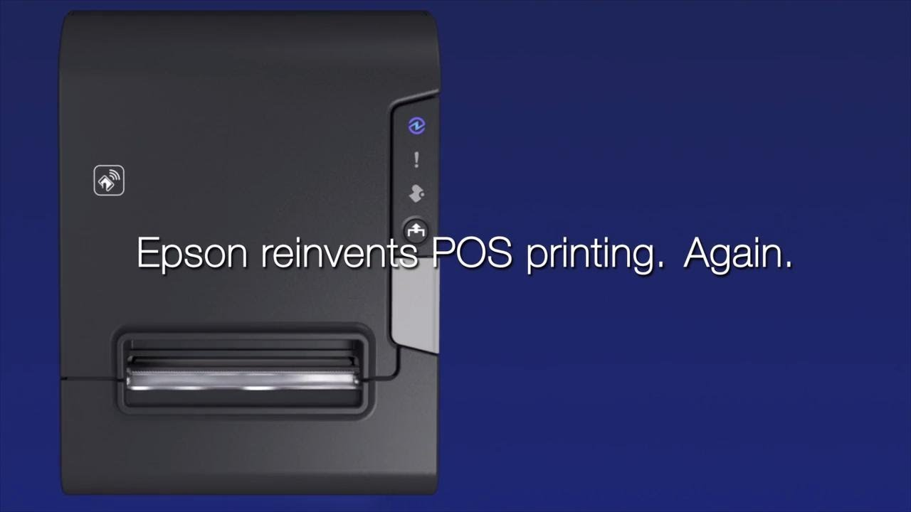Buy the Epson TM-T88VI-241 Receipt Printer Black Serial +