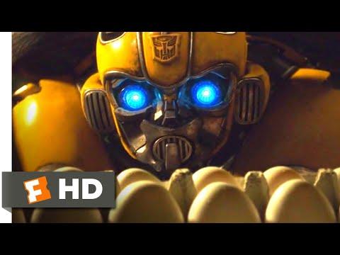 Bumblebee (2018) - The Egg Prank Scene (4/10) | Movieclips