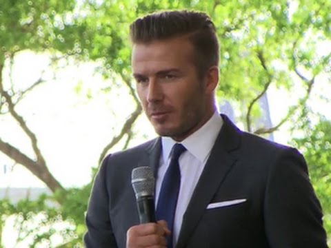 David Beckham wants to own pro soccer team in Miami