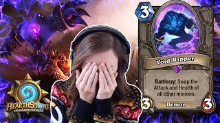 [Hearthstone] Void Ripper TOO STRONG!