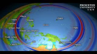 Seismic event: C201110060737A, Mag: 5.9, LOCATION: W. CAROLINE ISLANDS, MICRONESIA