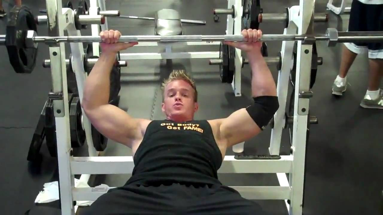 Uneven Arms Fitness Model James El...