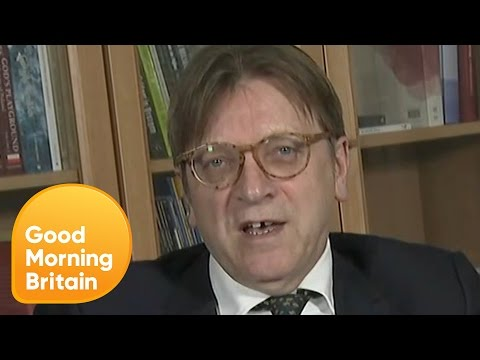 Brexit Negotiator Guy Verhofstadt Denies Accusing Theresa May of Blackmail | Good Morning Britain