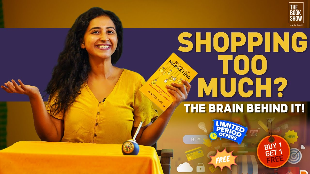 The Brain Behind Shopping Too Much | Bookmark ft. RJ Ananthi | The Book Show