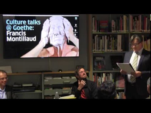 Culture talks @ Goethe: Francis Montillaud