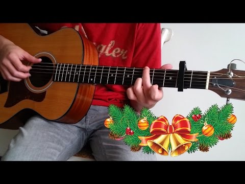 Christmas Songs Medley - Fingerstyle Guitar (by Guus Music)