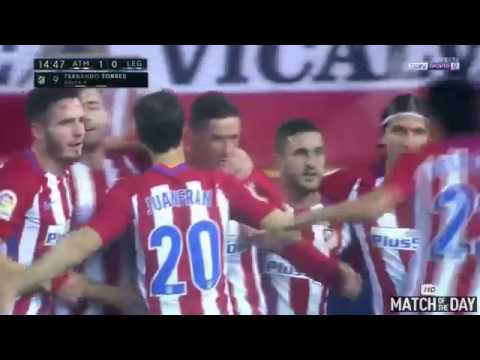 Atletico Madrid vs Leganes 2 0   All Goals & Extended Highlights   La Liga 04 02 2017 HD