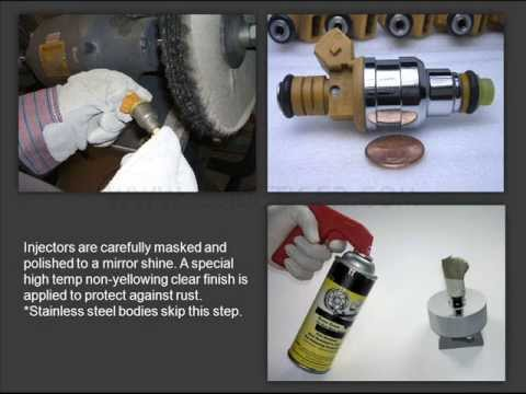Fuel Injector Cleaning & Flow Testing