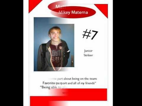 Olean HS  Soccer 2011 Yearbook