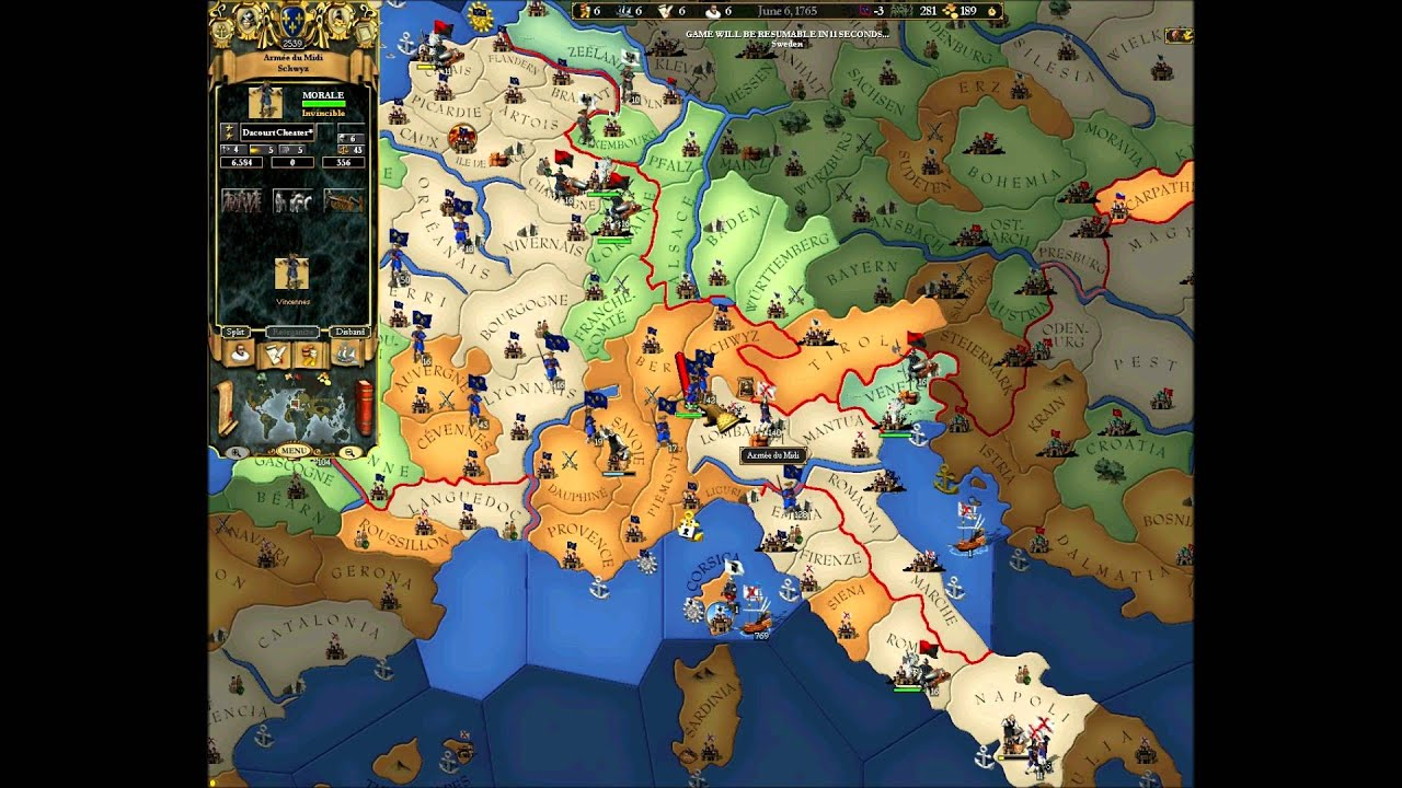 how to play europa universalis