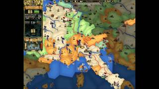 EUropa Universalis 2.Online game for 8 players Part 1