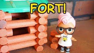 LOL SURPRISE DOLLS Build A Fort!