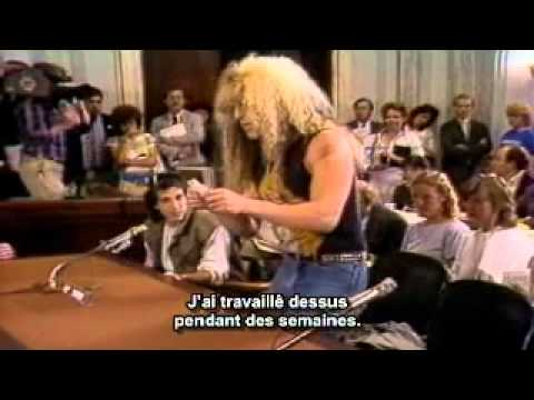 Headbanger's journey : Dee Snider vs Tipper and Al Gore