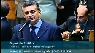 Audifax Parabenizo o Gov. Renato Casagrande pelo Plano de saneamento basico ES
