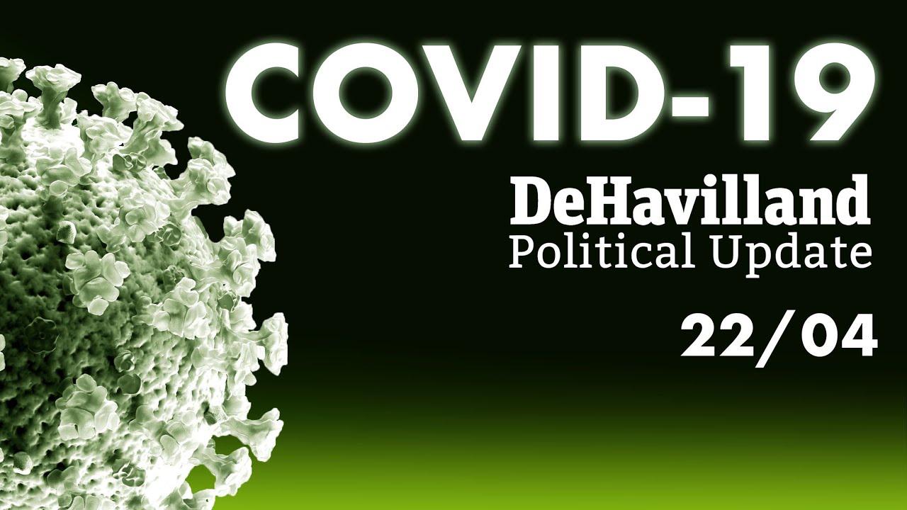 Coronavirus UK Political Update, 22/04/20