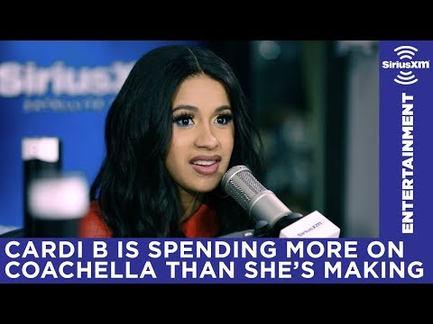 Cardi B didn't know how big of a deal Coachella is