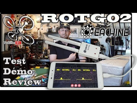 ROTG02 Recepteur FPV Smartphone Review Test Démo / HAPPY BIRTHDAY TO ME !