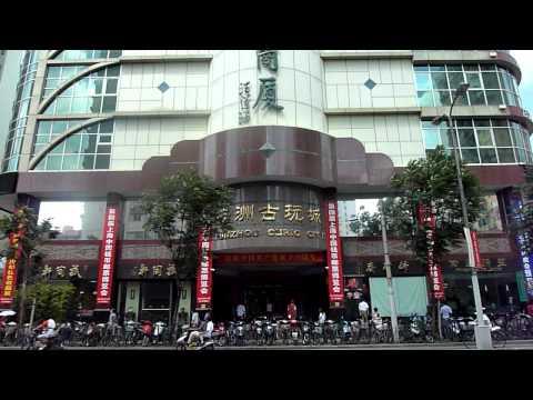 Yun Zhou Building, Shanghai's biggest antique market