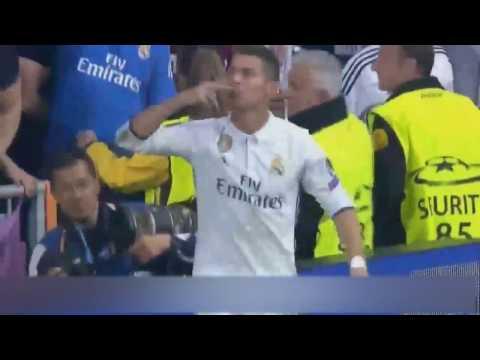 Real Madrid Vs Atletico Madrid 3 0 ALL GOALS   RONALDO hat-trick 02 05 2017