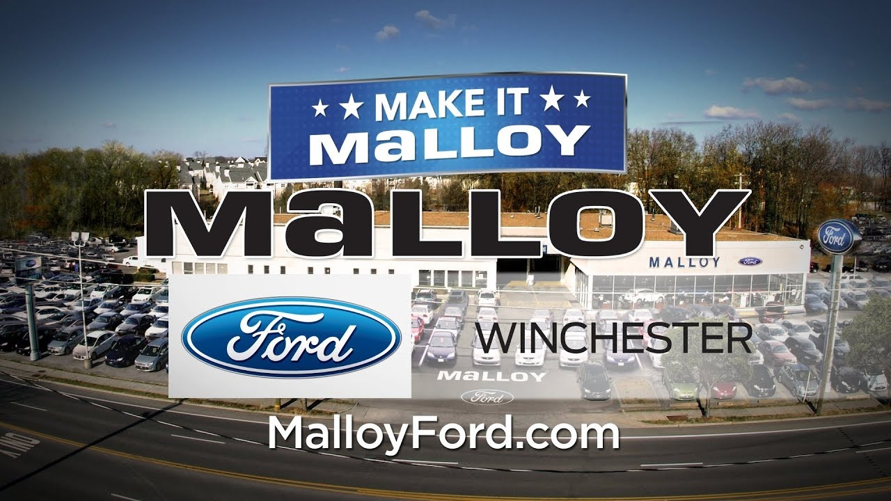 Malloy Ford Of Winchester Service Center Youtube