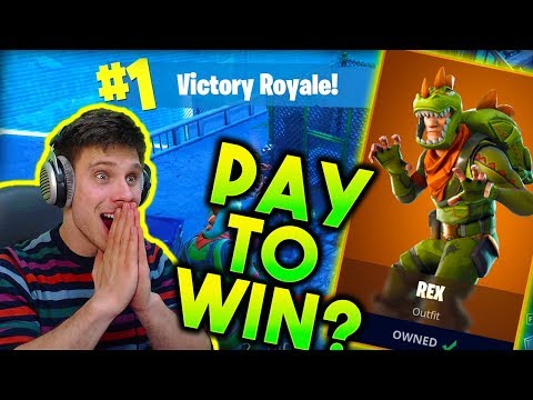 Fortnite Op Skin!!! REX Easy WIN