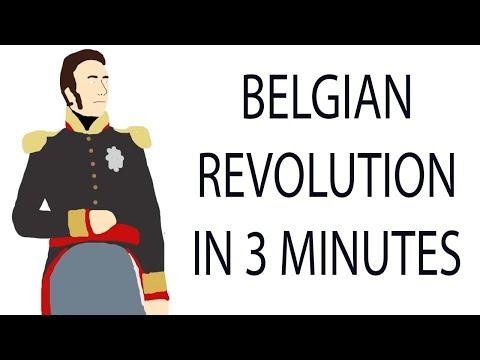 Belgian Revolution | 3 Minute History