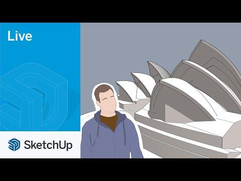 Modeling the Sydney Opera House Live with Tyson!