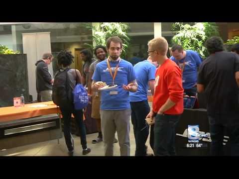 RIT on TV: Computing Science hosts Hachathon