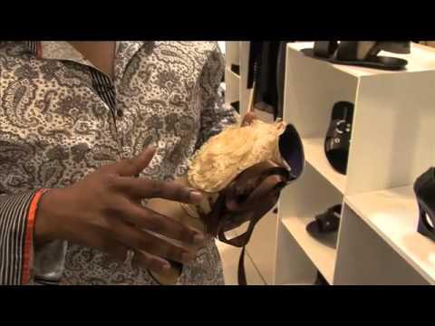 South African fashion design showroom: Daniele Di Mauro designer footwear, Sandton, Johannesburg