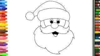 Nasıl çizilir Noel Baba