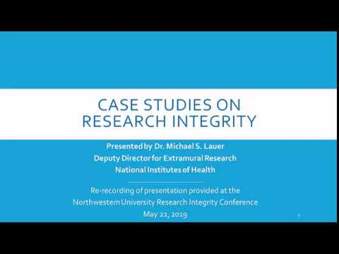 Case Studies On Research Integrity